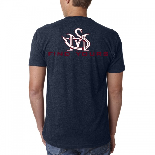 Mens Vneck Back